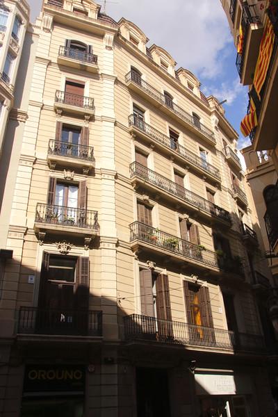 Residential building in Gothic Quarter Barcelona