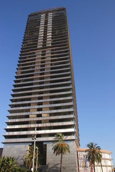 Torre Mapfre office tower Vila Olimpica Barcelona Spain