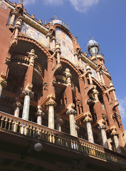 Palau de la Musica Catalana concert hall Barcelona Spain