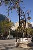 Lamp Post Passeig de Gracia Eixample Barcelona Spain