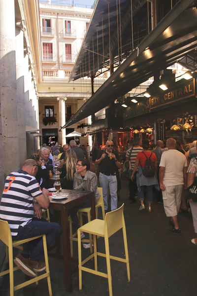 Bar Central Mercat de La Boqueira La Rambla Barcelona Spain