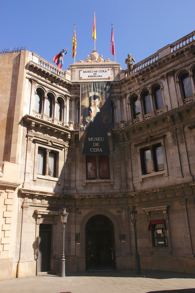 Museo de Cera Wax Museum Barcelona Spain