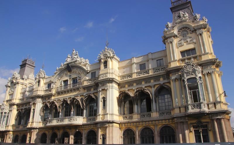 Port de Barcelona Spain