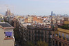 Eixample Skyline Barcelona view from La Pedrera