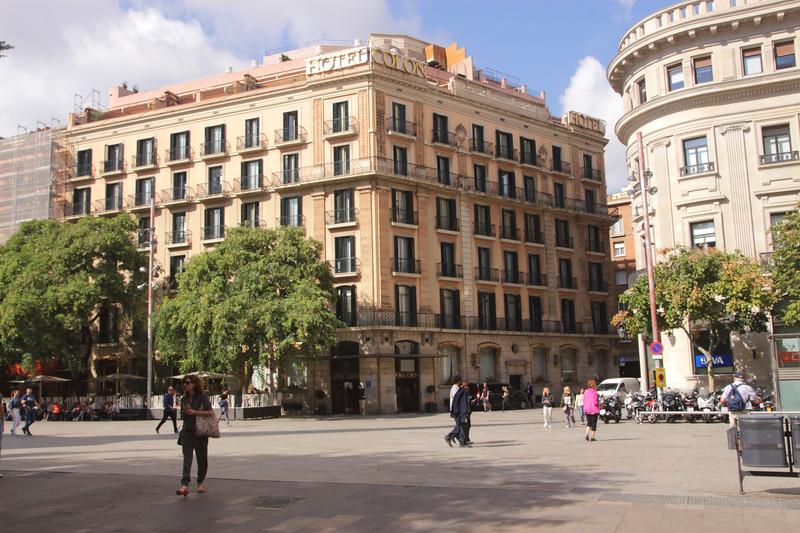 Hotel Colon Via Laietana Barcelona Spain
