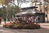 Kiosk La Rambla Barcelona Spain