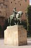 Ramon Berenguer statue in Placa de Ramon Berenguer el Gran Barcelona
