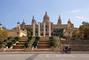 Palau Nacional art museum Barcelona Spain