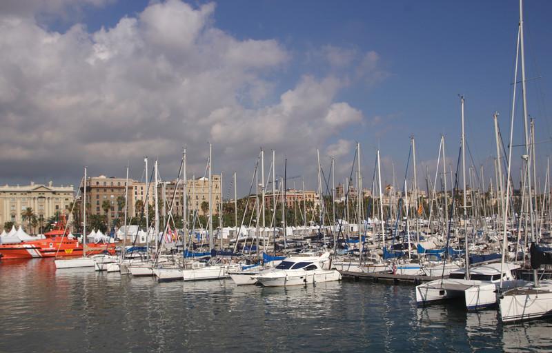 Marina Port Vell Barcelona Spain