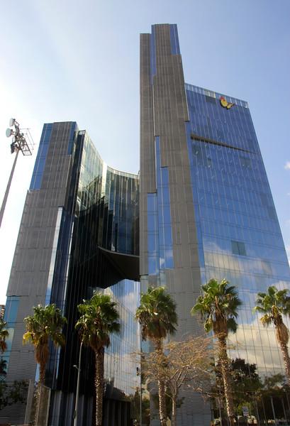 Gas Natural Fenosa building Barcelona Spain