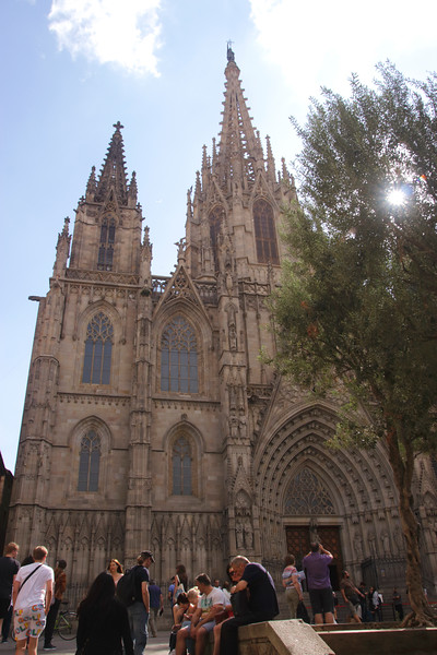 Barcelona Cathedral Spain