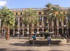 Placa Reial Barcelona Spain Autumn 2017