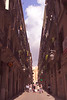 Alley in the Barri Gotic Barcelona Spain