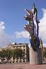 El Cap de Barcelona sculpture by Roy Lichtenstein Barcelona Spain