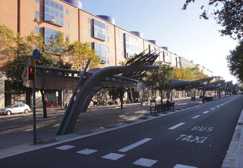 Avinguda d'Icaria Poble Nou Barcelona Spain