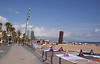 Barceloneta beach Barcelona Spain Autumn 2017