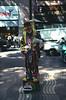 Street performer La Rambla Barcelona