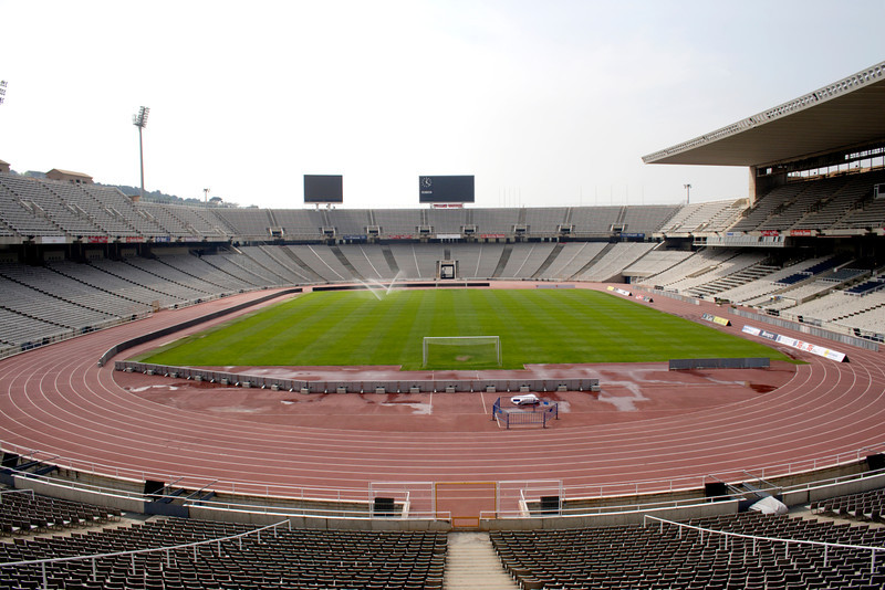 The Olympic Stadium Montjuic Barcelona