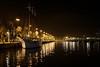 Port Vell at night Barcelona