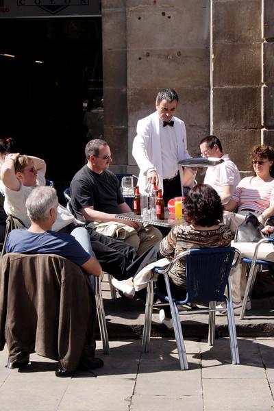 Cafe at Placa Reial Barcelona