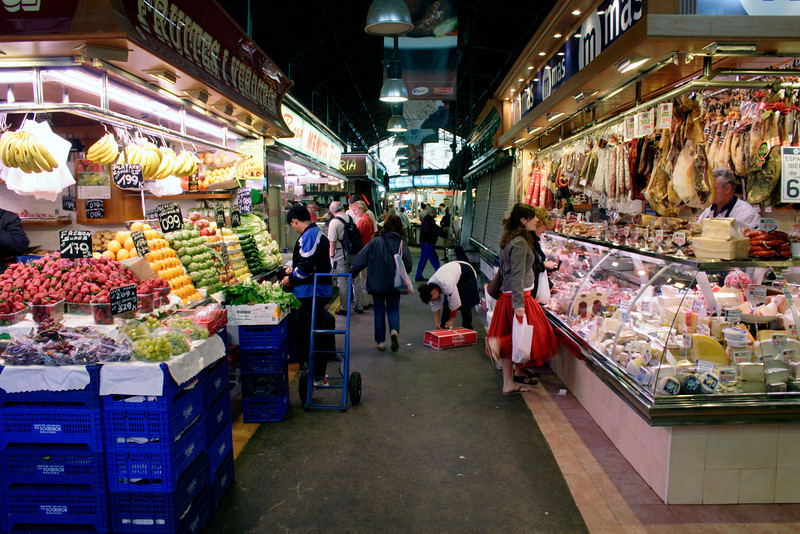 Mercat de la Boqueria Barcelona