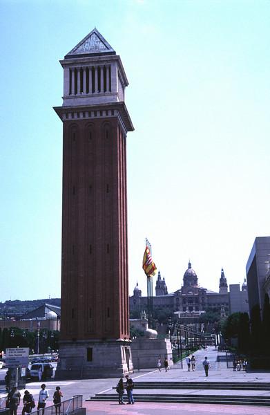 Placa d'Espanya Barcelona