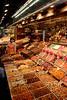 Confectionary and nuts stall Mercat de la Boqueria Barcelona