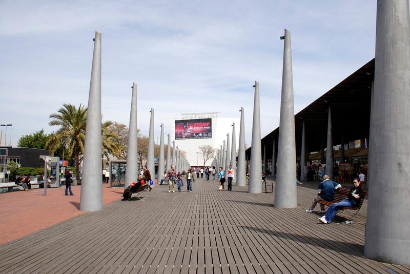 IMAX cinema near the Mare Magnum Barcelona