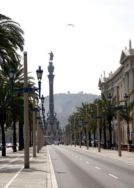 Monument a Colom Barcelona
