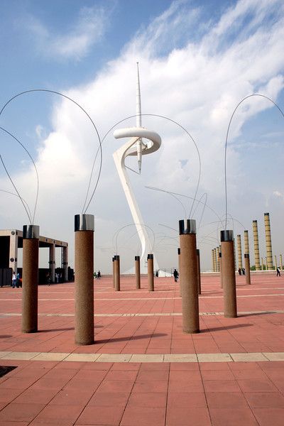 Olympic Terrace at Montjuic Barcelona
