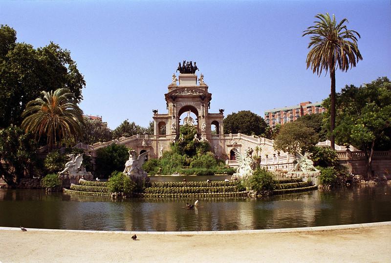 Cascada at the Parc de la Ciutadella Barcelona