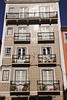 Residential building along Rua de Sao Bento Lisbon Portugal