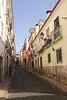 Alley in Bairro Alto Lisbon Portugal