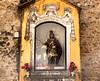 St George Icon at Castelo de Sao Jorge Lisbon Portugal