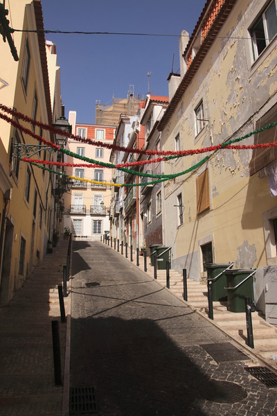 Travessa do Cabral Bairro Alto Lisbon Portugal