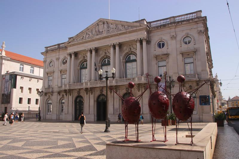 City hall Praca do Municipio Lisbon Portugal