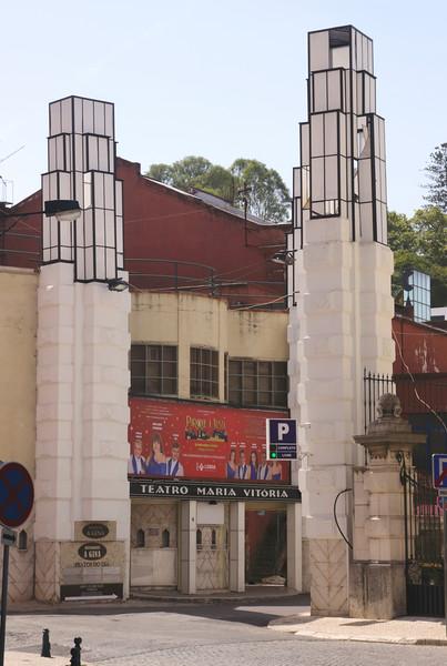 Teatro Maria Vitoria Parque Mayer Lisbon Portugal