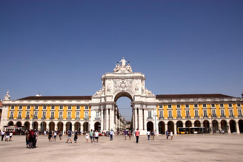 Praca do Comercio Lisbon Portugal