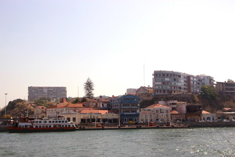 Almada Lisbon Portugal on south side of Tagus river