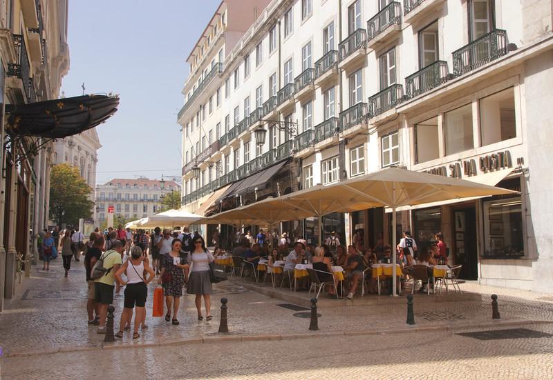 Cafe a Brasileira Chiado Lisbon Portugal