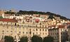 Alfama skyline Lisbon Portugal
