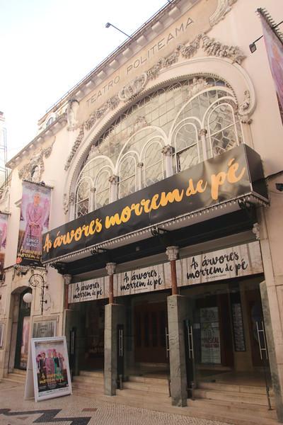 Teatro Politeama theatre Lisbon Portugal