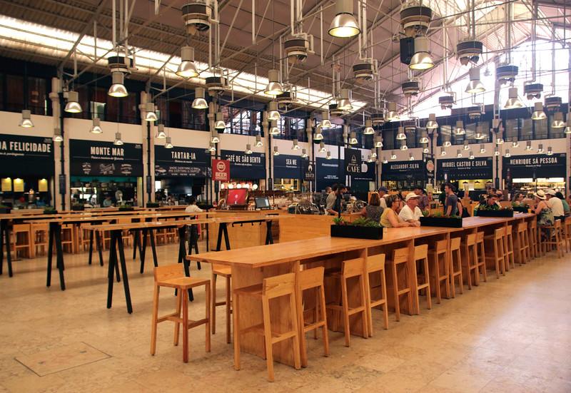 Mercado da Ribeira TimeOut market Lisbon Portugal
