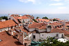 Rooftops in Alfama Lisbon Portugal