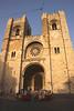 Se Cathedral Alfama district Lisbon Portugal