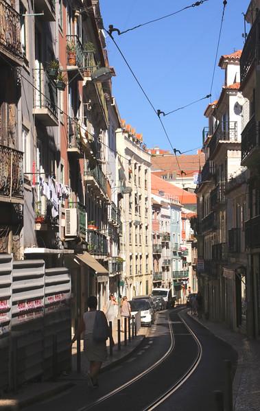 Rua Poiais de Sao Bento  Lisbon Portugal