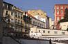 Buidlings by Calcada do Duque Bairro Alto district Lisbon Portugal