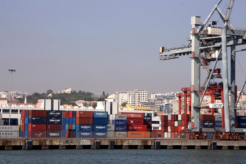 Lisbon docks Portugal