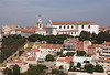 Miradouro da Graca working class quarter and Augustinian Monastery Lisbon Portugal