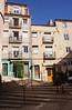 Residential buildings and restaurant Cantinho da Paz Lisbon Portugal